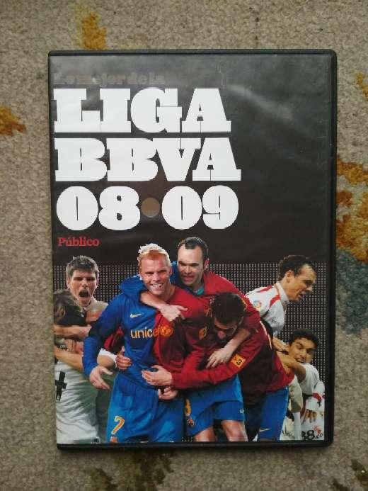 Imagen DVD del FC Barcelona campeón de Liga BBVA 2008/2009