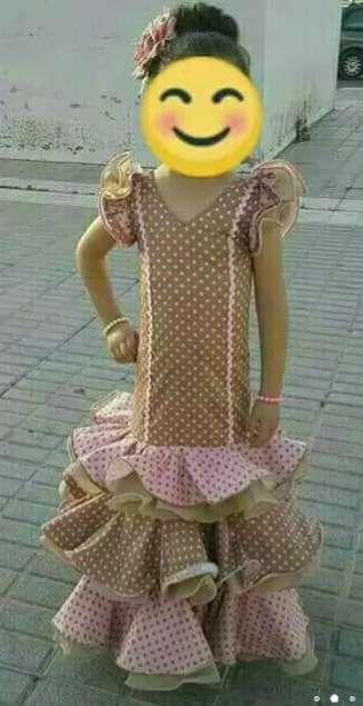 Imagen producto Traje Flamenca Niña  3