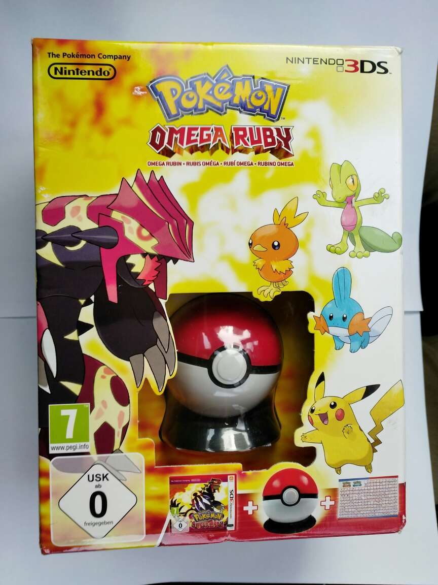 Imagen Pokémon Omega Rubí Edic limitada, nuevo