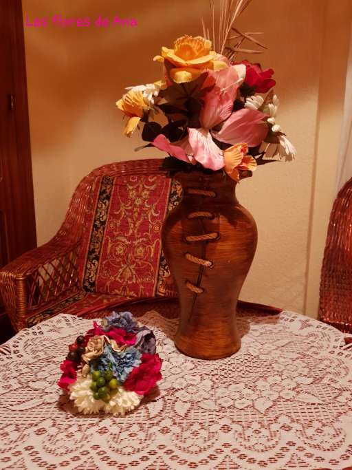 Imagen producto Ramilletes de flamenca  4
