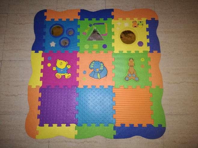 Imagen Alfombra puzzle goma