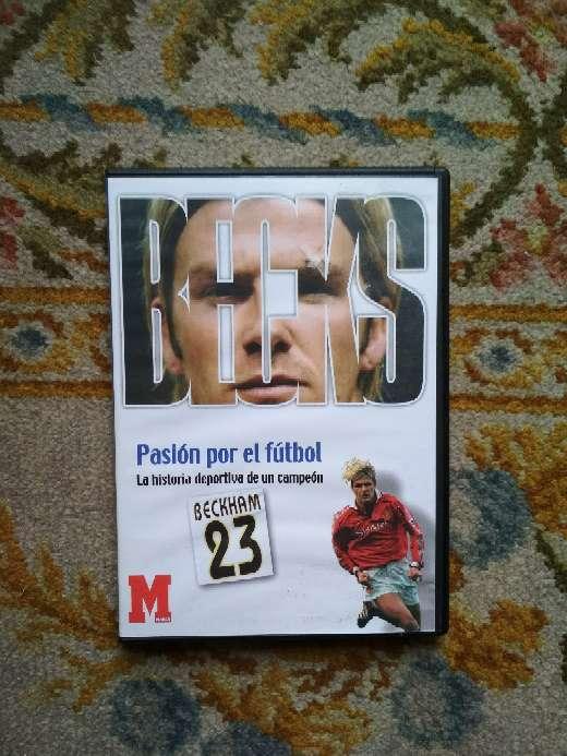Imagen DVD David Beckham pasión por el fútbol