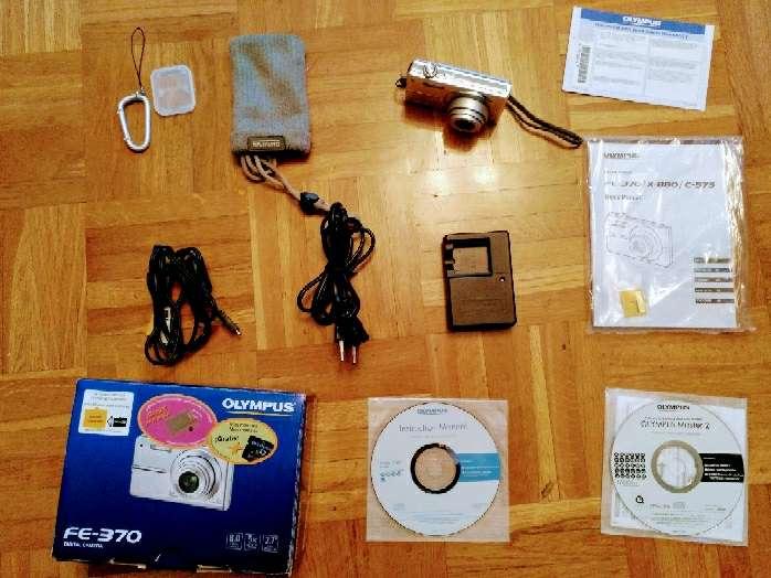 Imagen producto Cámara digital Olympus FE-370 4