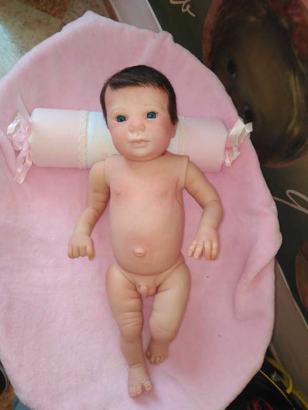 Imagen bebé reborn kit blaze