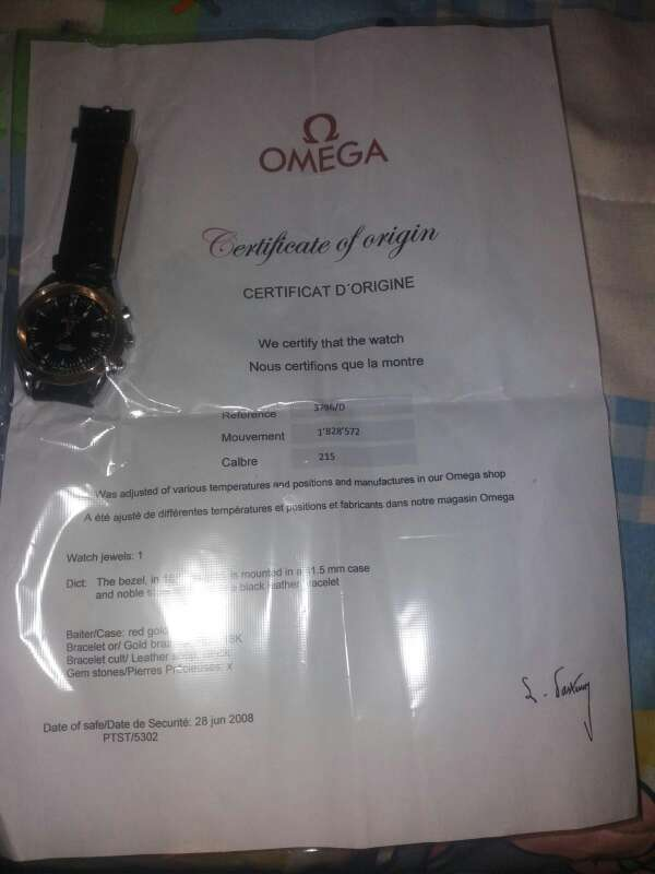 Imagen producto Reloj omega seamaster 4