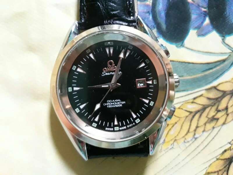 Imagen reloj omega seamaster