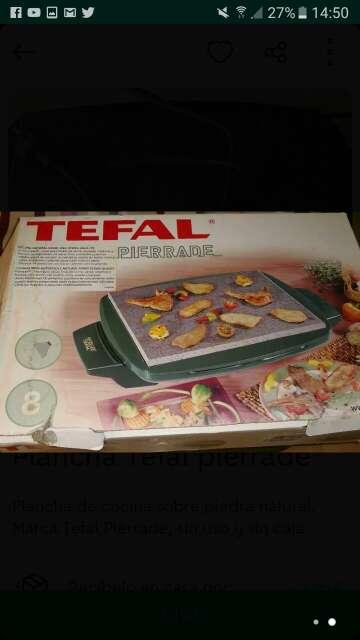Imagen Plancha de cocina,Tefal Pierrade