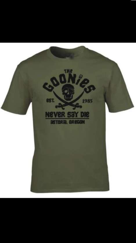 Imagen camiseta the GOONIES