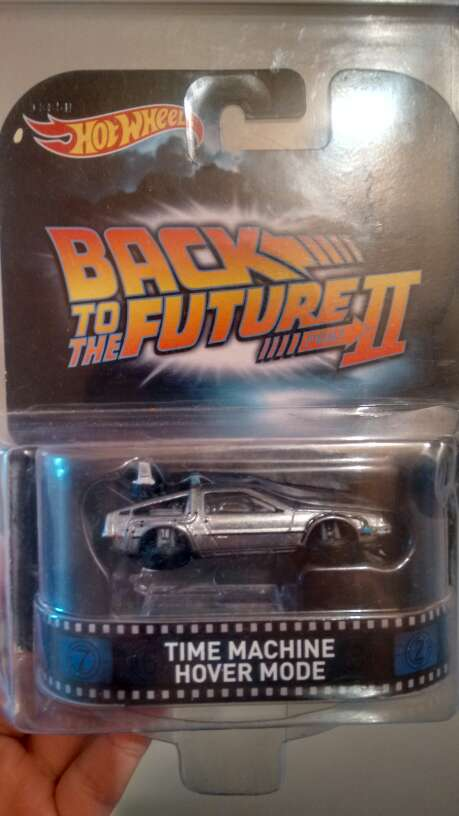 Imagen hot wheels volver al futuro ||