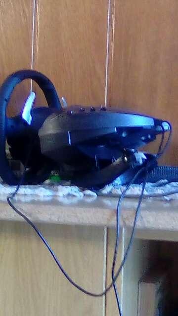 Imagen producto Xbox 360 i volante negro 360 1