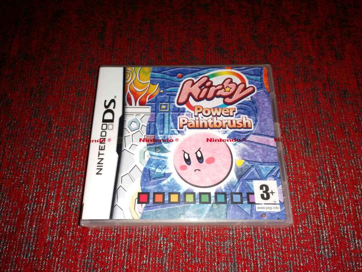 Imagen Kirby power paintbrush, precintado