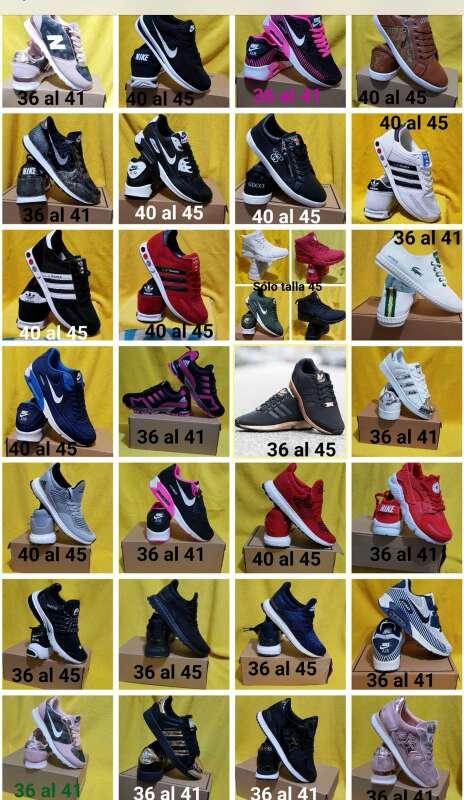 Imagen producto Bambas varios modelos 10