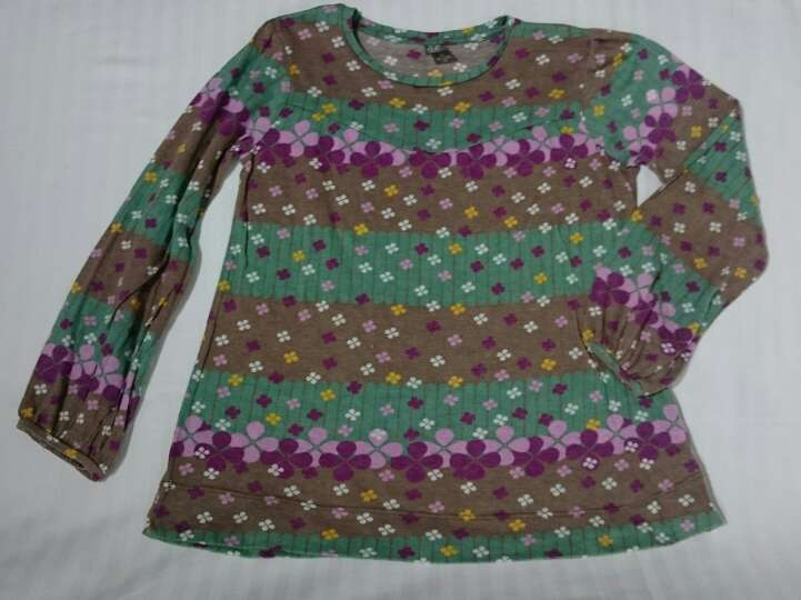 Imagen Camiseta ZARA Flores niña