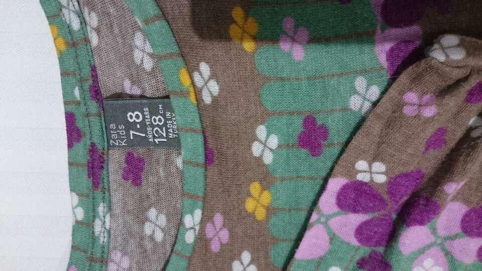 Imagen producto Camiseta ZARA Flores niña  2