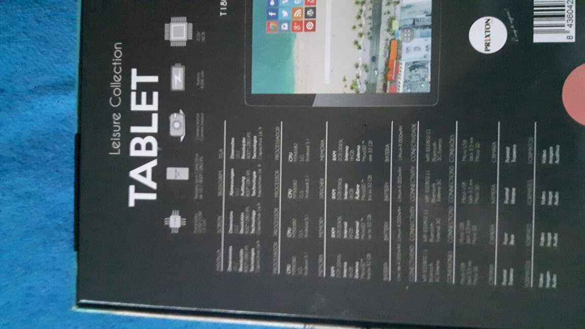 Imagen producto Tablet prixton 3