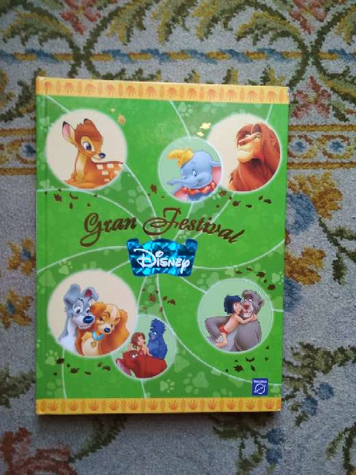 Imagen libro infantil gran festival Disney