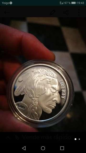 Imagen producto Monedas de Plata 1 onza  9