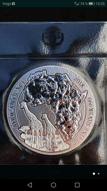 Imagen producto Monedas de Plata 1 onza  2