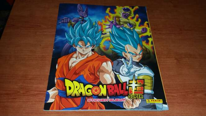 Imagen Album completo dragon ball super bola de dragon