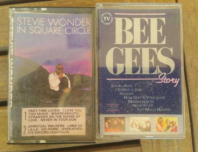 Imagen Cassettes de música