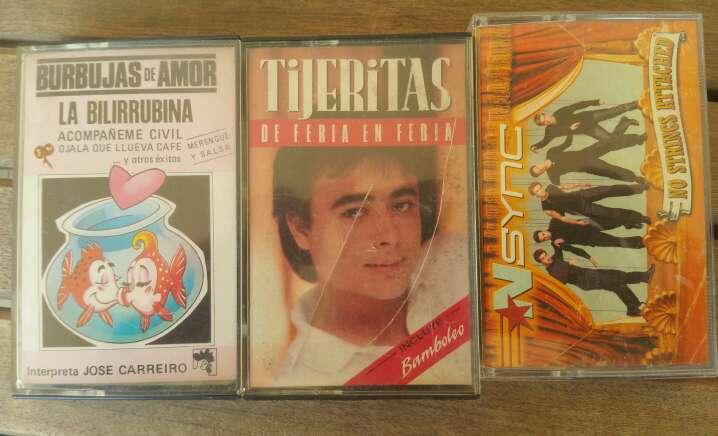 Imagen producto Cassettes de música 2