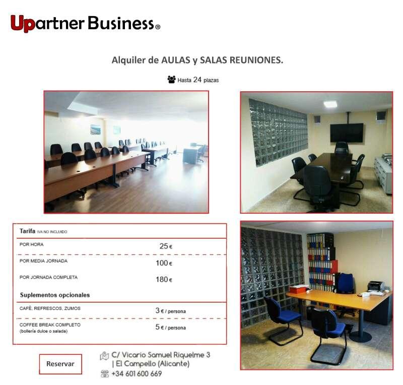 Imagen Aula y salas de reuniones