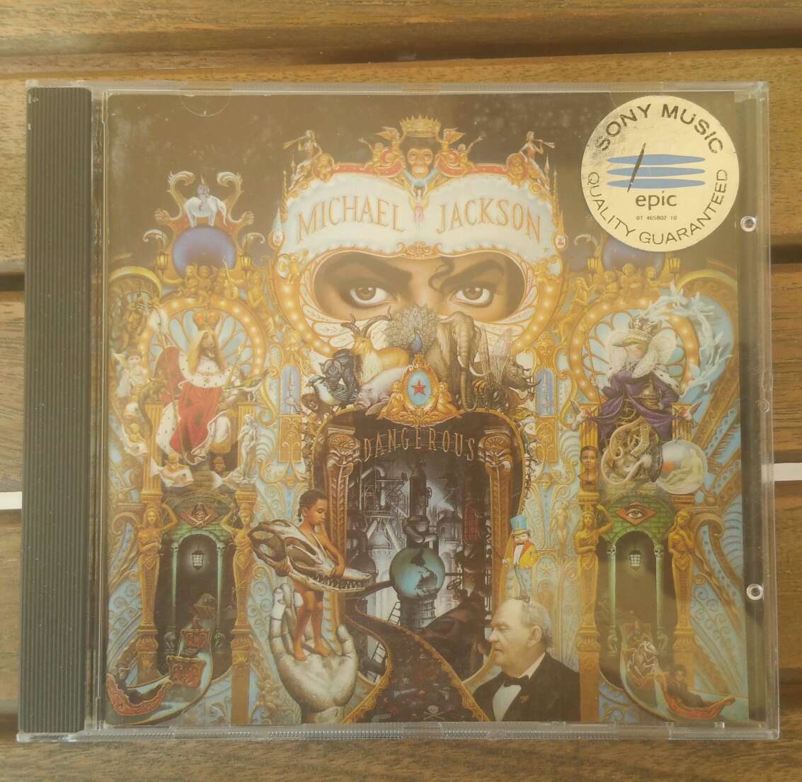 Imagen CD Música Michael Jackson