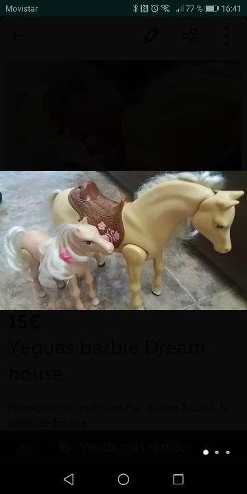 Imagen Yegua y potro de barbie