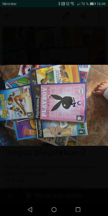 Imagen Lote juegos play station 2