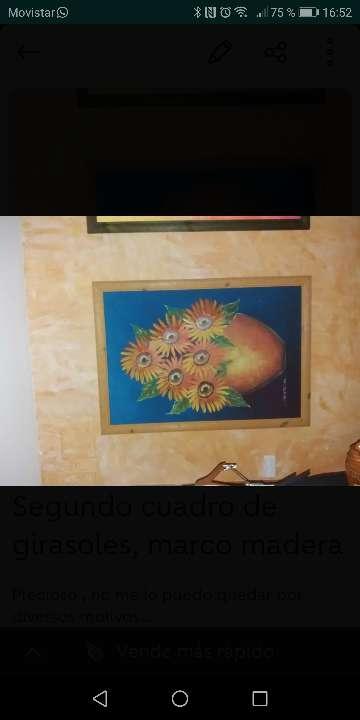 Imagen Cuadro girasoles