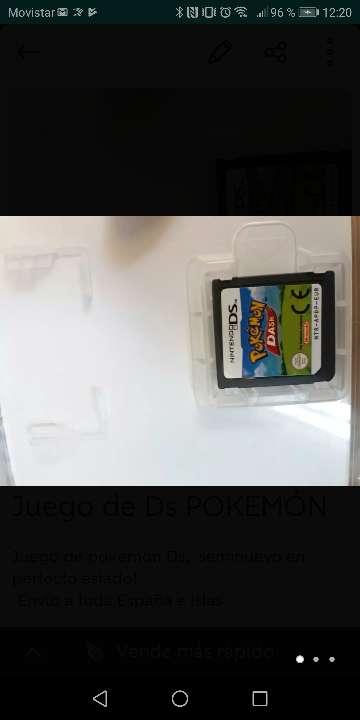 Imagen Pokemón juego DS