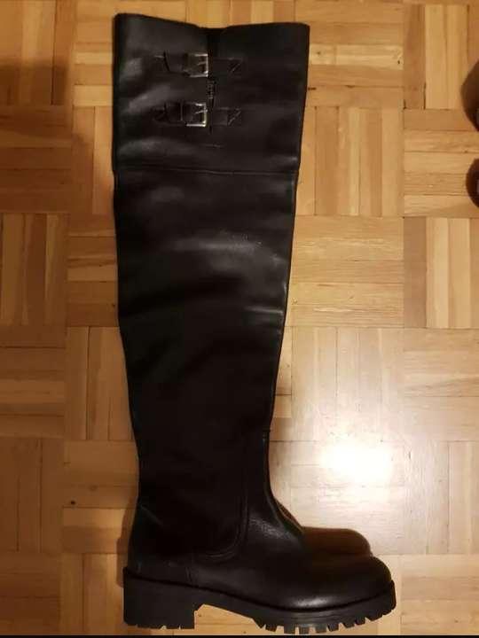 Imagen botas zara negras
