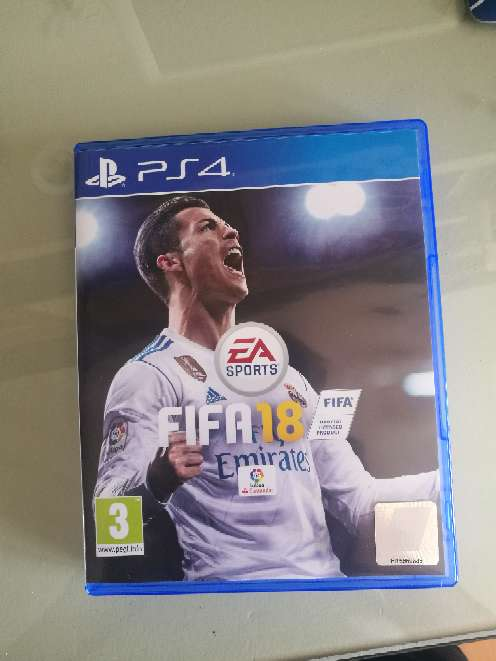 Imagen producto Fifa 18 PS4 1