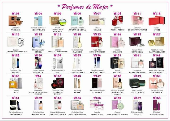 Imagen Perfumes originales trabajo co  el fabricante