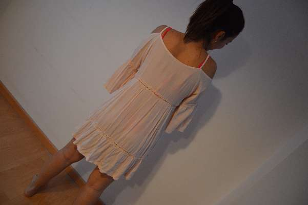 Imagen vestido rosa boho