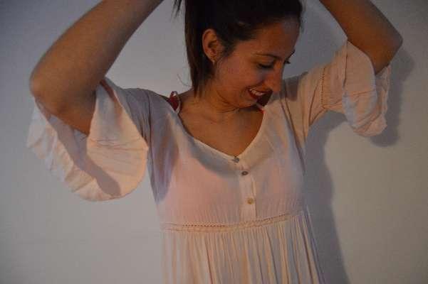 Imagen producto Vestido rosa boho  2