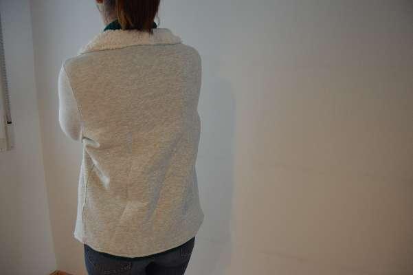 Imagen chaqueta con solapa de borreguito