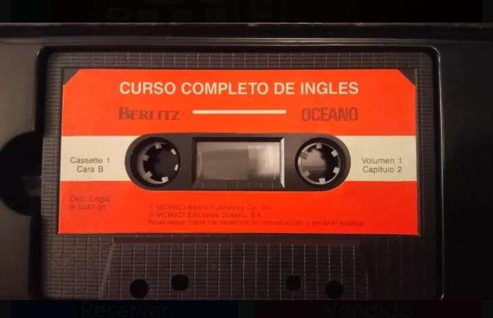 Imagen producto Curso de ingles en cassette 3