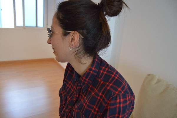 Imagen camisa de cuadros azul marino y rojos