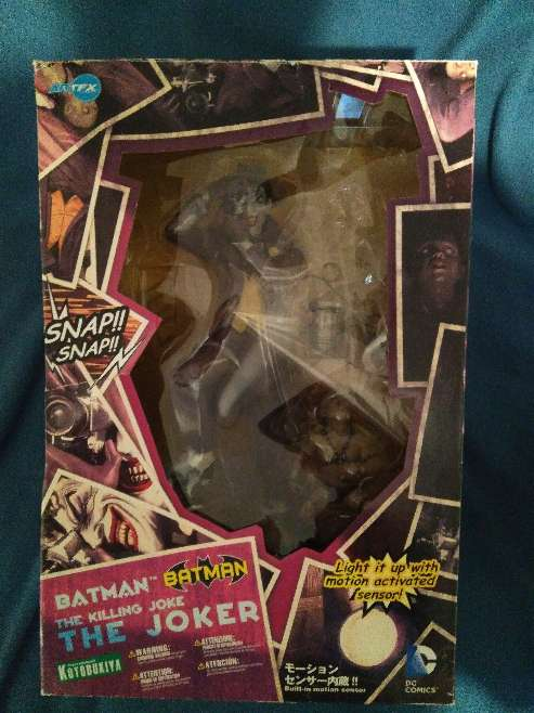 Imagen producto Figura Joker kotobukiya Batman La broma asesina 3