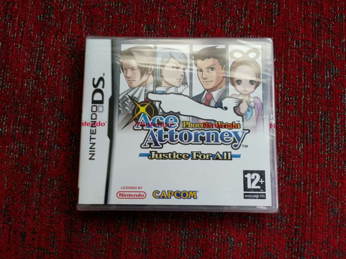 Imagen Ace attorney justice for all, precintado