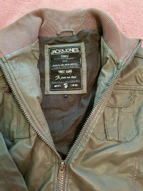 Imagen producto Chaqueta de cuero jack & Jones hombre  2