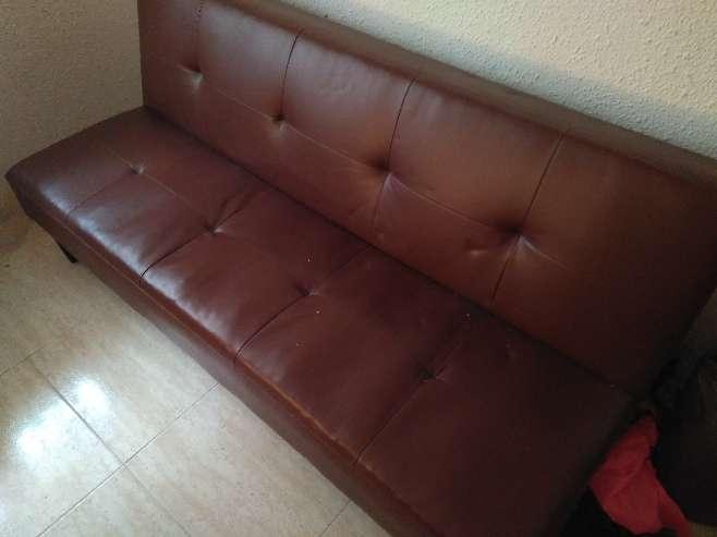 Imagen producto Sofá - cama cuero  3
