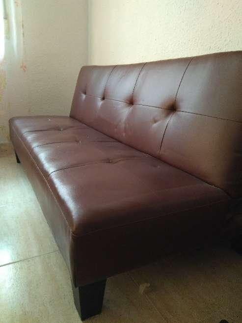 Imagen sofá - cama cuero
