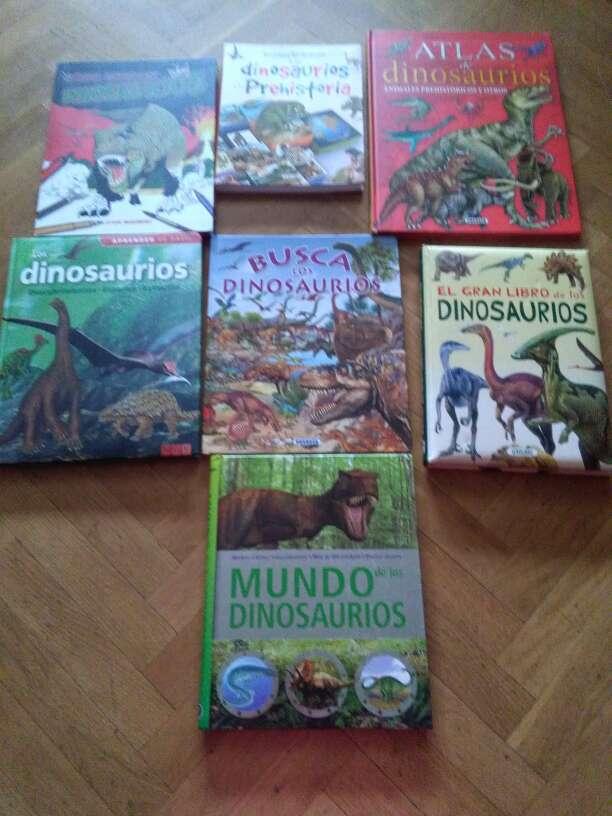 Imagen Libros dinosaurios