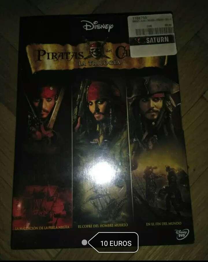 Imagen Trilogía Piratas del Caribe