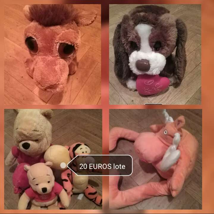 Imagen Lote peluches