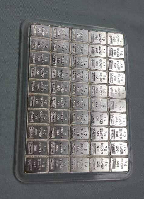 Imagen producto Caja de plata pura 999 de 50 gramos  2