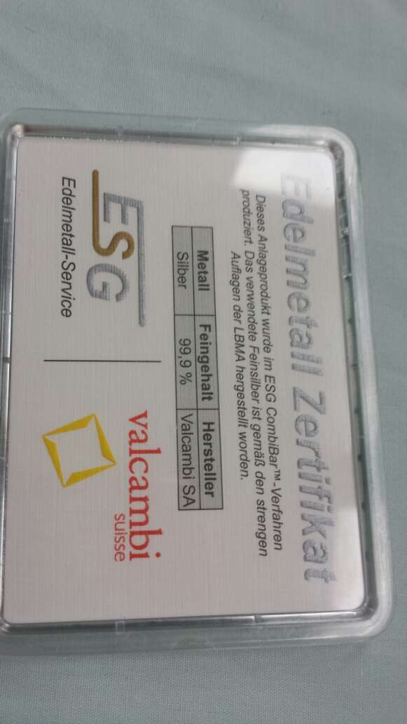 Imagen producto Caja de plata pura 999 de 50 gramos  4