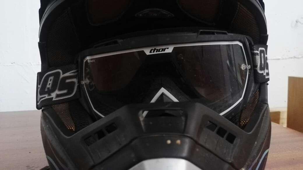 Imagen producto Casco nitro+gafas+quick strap 2